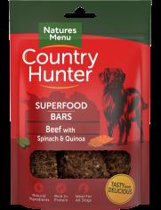 NATURES MENU Country Hunter Barra Superfood Carne Vaca c/ Espinafres e Quinoa