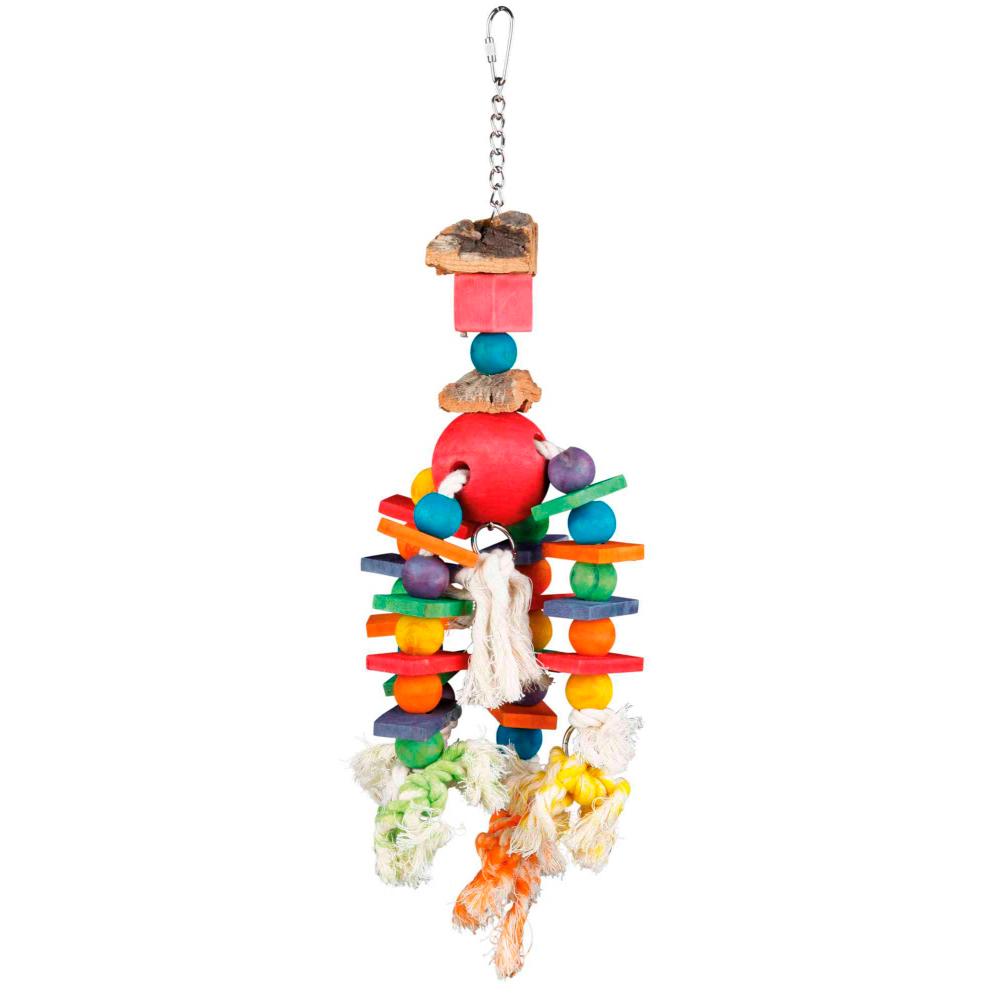 TRIXIE Brinquedo Multicolorido para Aves