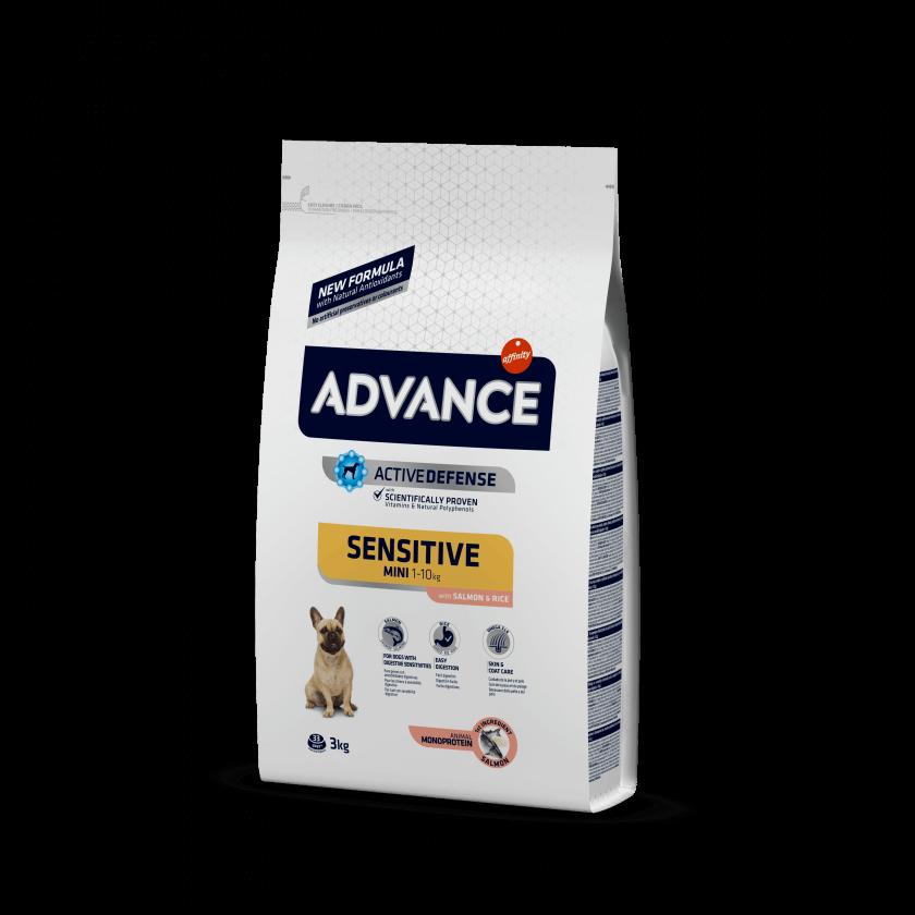 Advance Mini Sensitive Salmão e Arroz