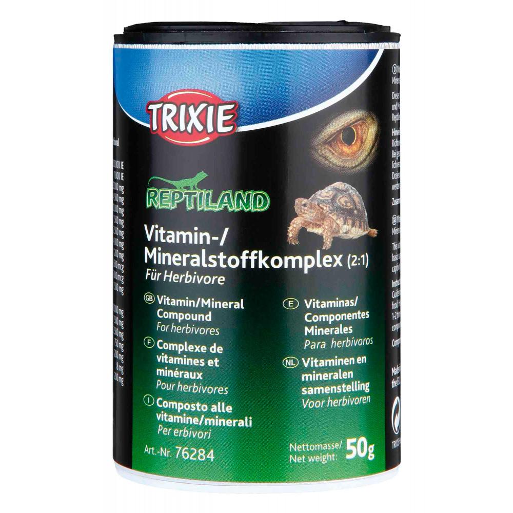 TRIXIE Composto Mineral Vitamínico para Repteis Herbivoros