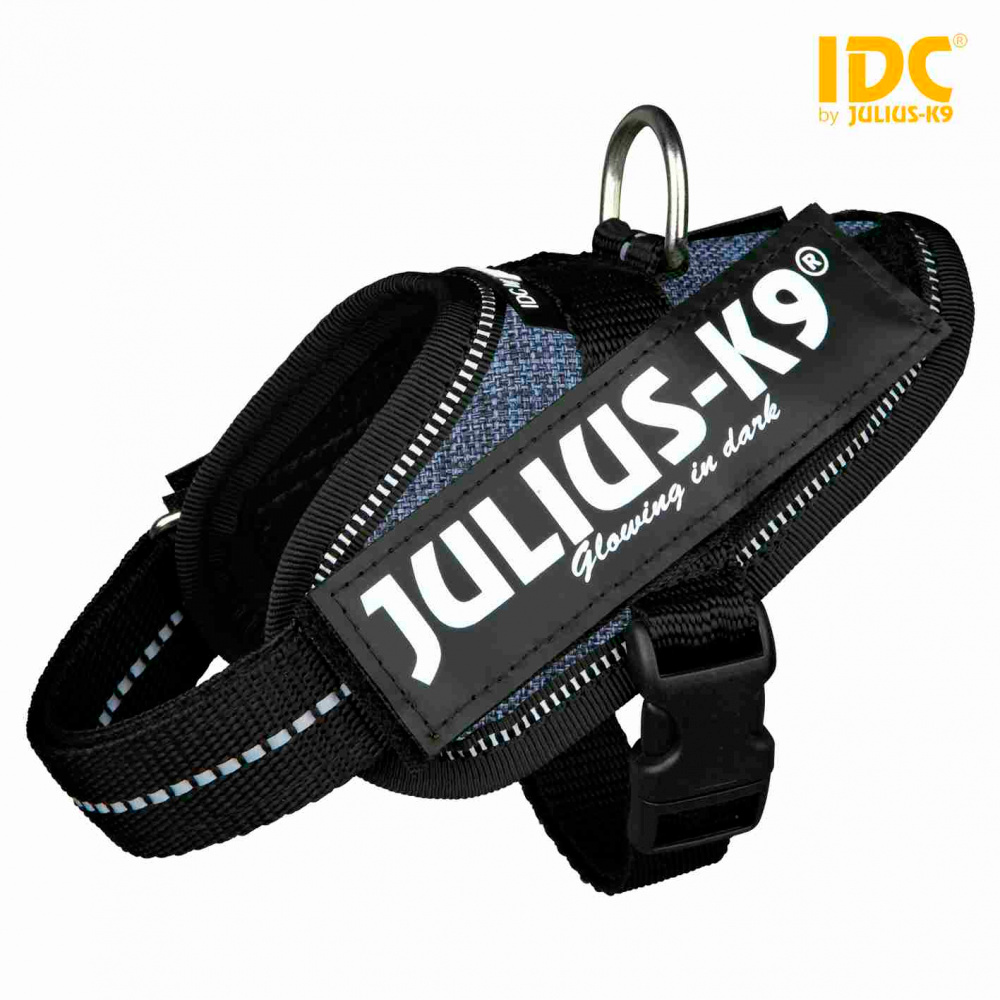 JULIUS K-9 Peitoral IDC - Azul Ganga