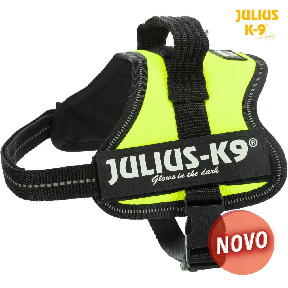 JULIUS K-9 Peitoral - Verde Neon