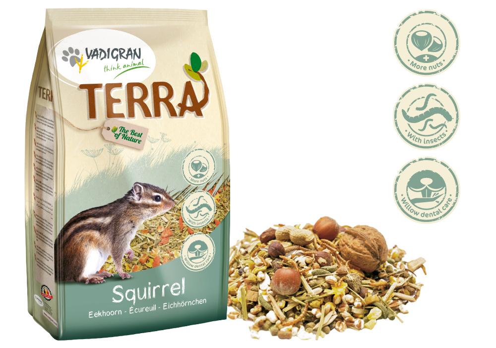 VADIGRAN Terra - Alimento Premium para Esquilos