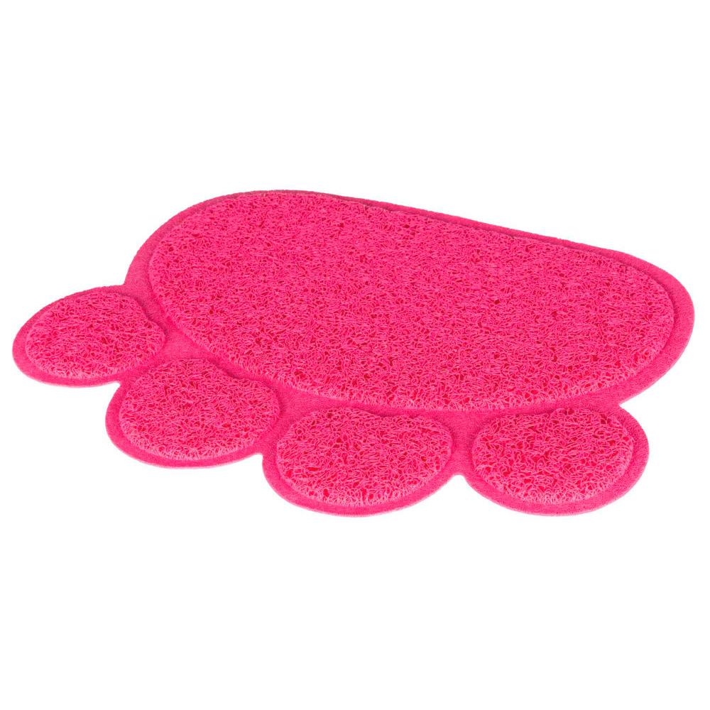 TRIXIE Tapete em PVC Pata para WC 40x30cm Rosa