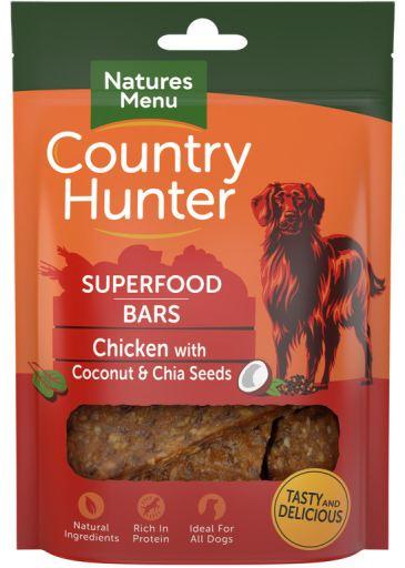 NATURES MENU Country Hunter Barra Superfood Frango c/ Coco e Chia