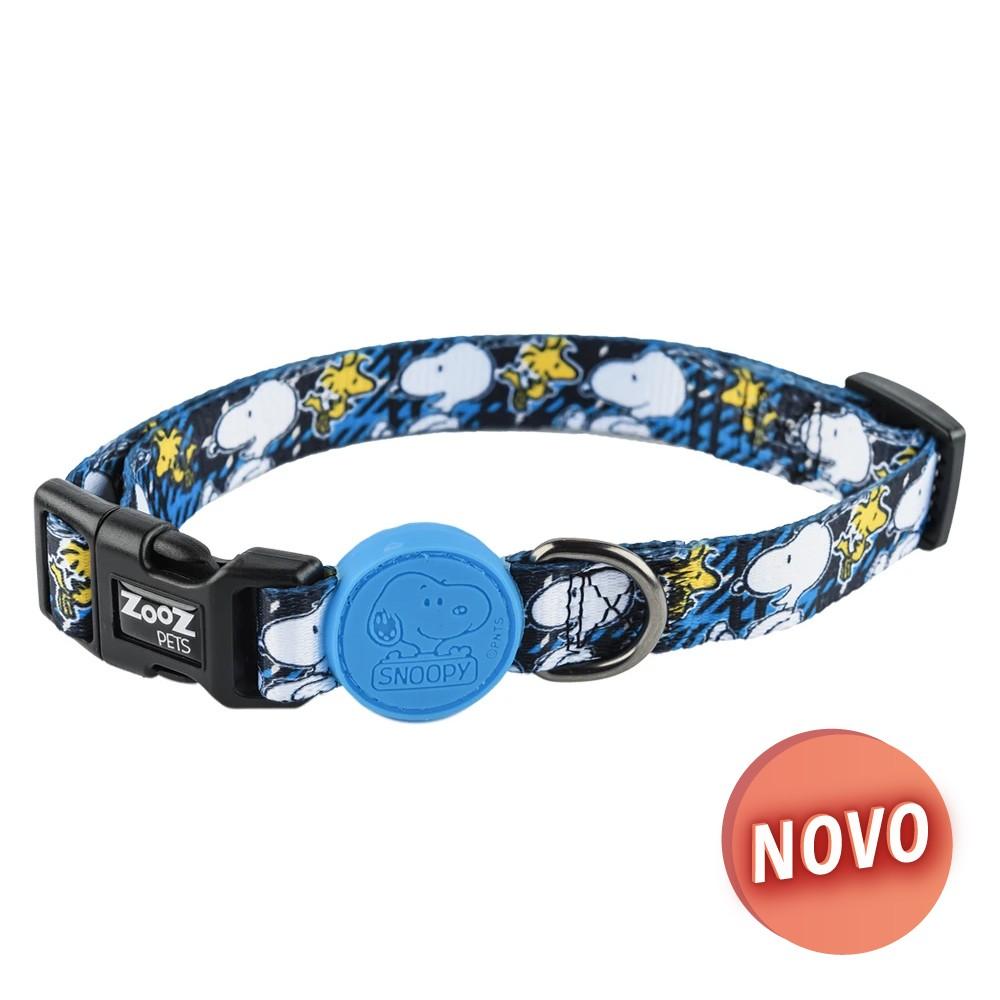 SNOOPY Coleira - Charlie Brown Azul