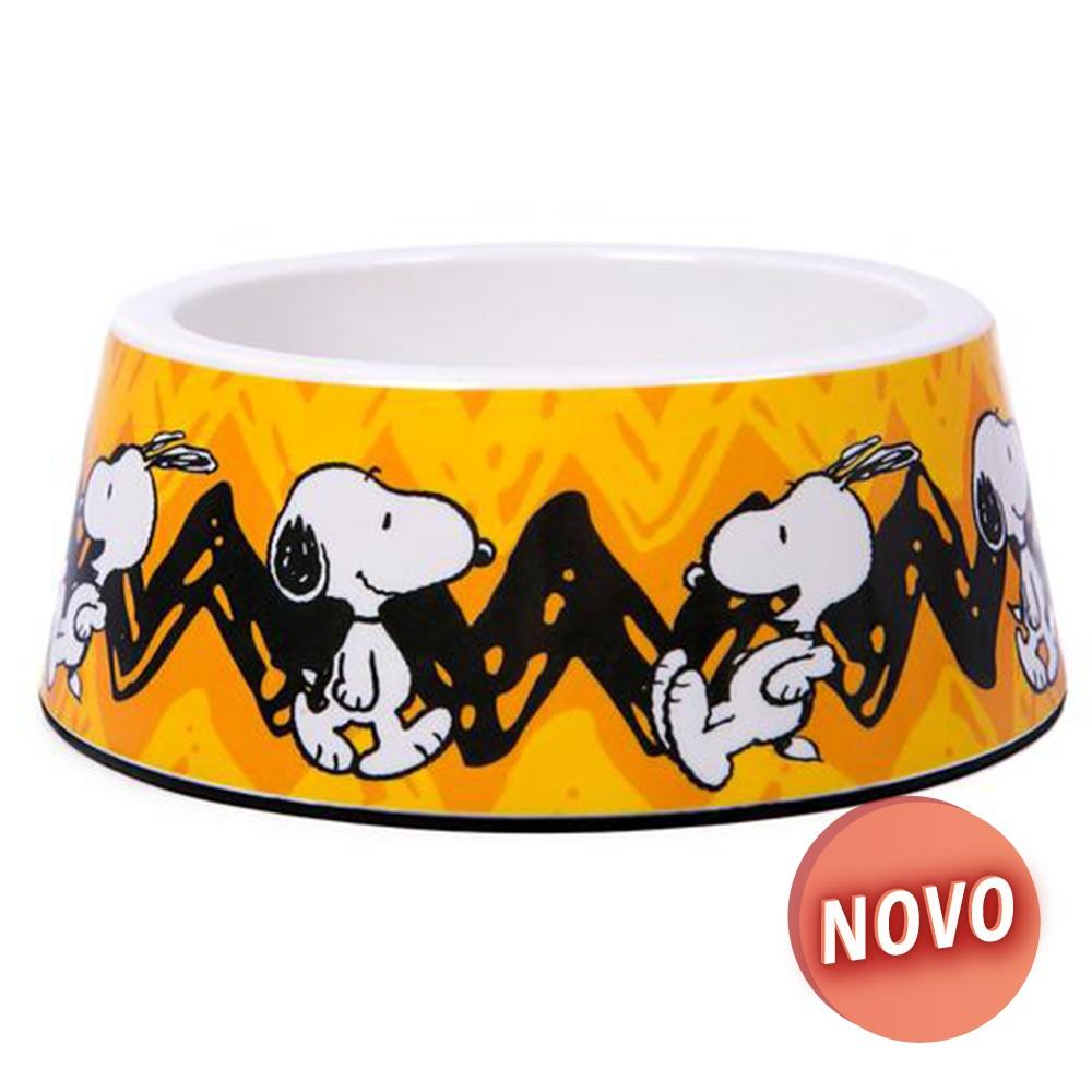 SNOOPY Gamela Melamina - Charlie Brown Amarelo