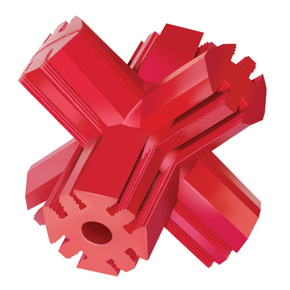 Kong Red Rubber Jump N' Jack - Medium