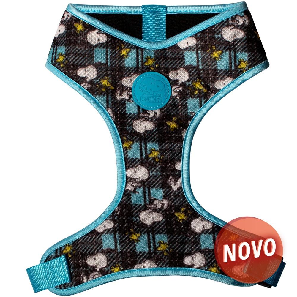 SNOOPY Colete Peitoral - Charlie Brown Azul