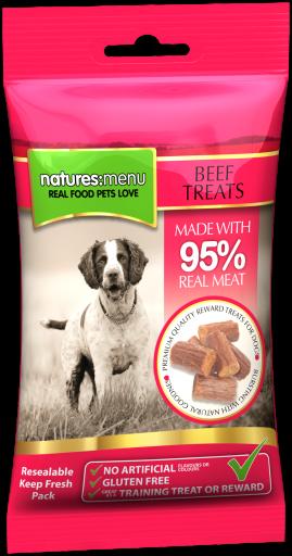 NATURES MENU Treats Carne Vaca