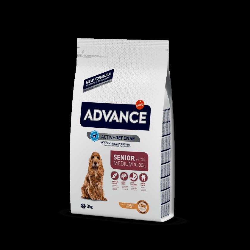 Advance Medium Senior Frango e Arroz
