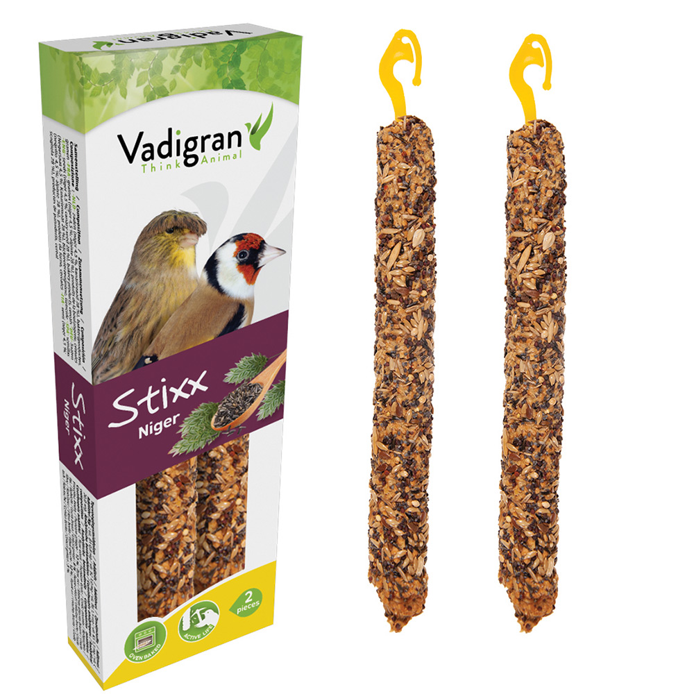 VADIGRAN Stixx - Sticks com Niger para Canários e Fauna Europeia