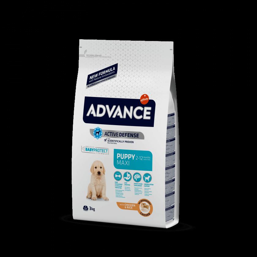 Advance Puppy Maxi Frango e Arroz
