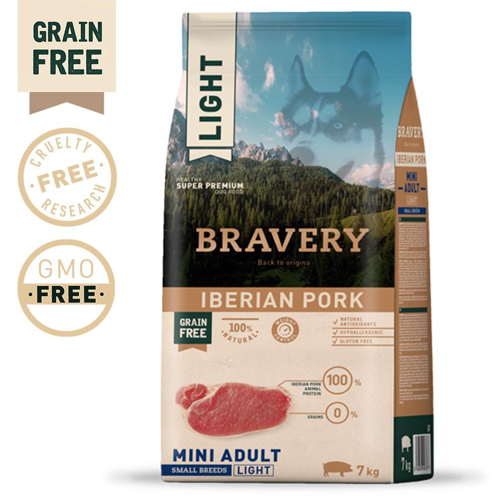 BRAVERY Grain Free Adult Mini Iberian Pork Light