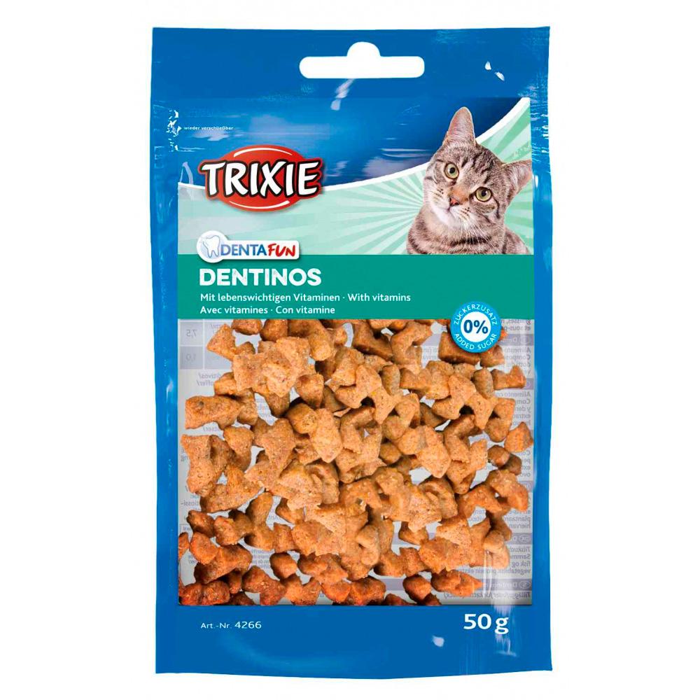 TRIXIE Denta Fun Dentinos - Snacks com Vitaminas
