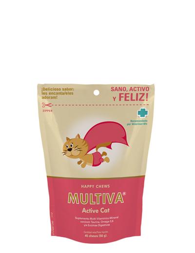 VETNOVA MULTIVA® Active Cat - 45 Chews