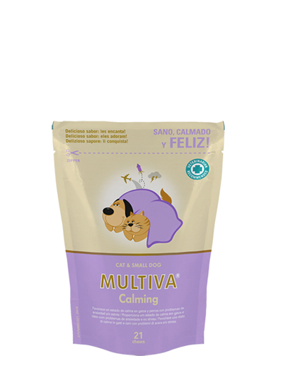 VETNOVA MULTIVA ® Calming Small Dog & Cat - 21 Chews