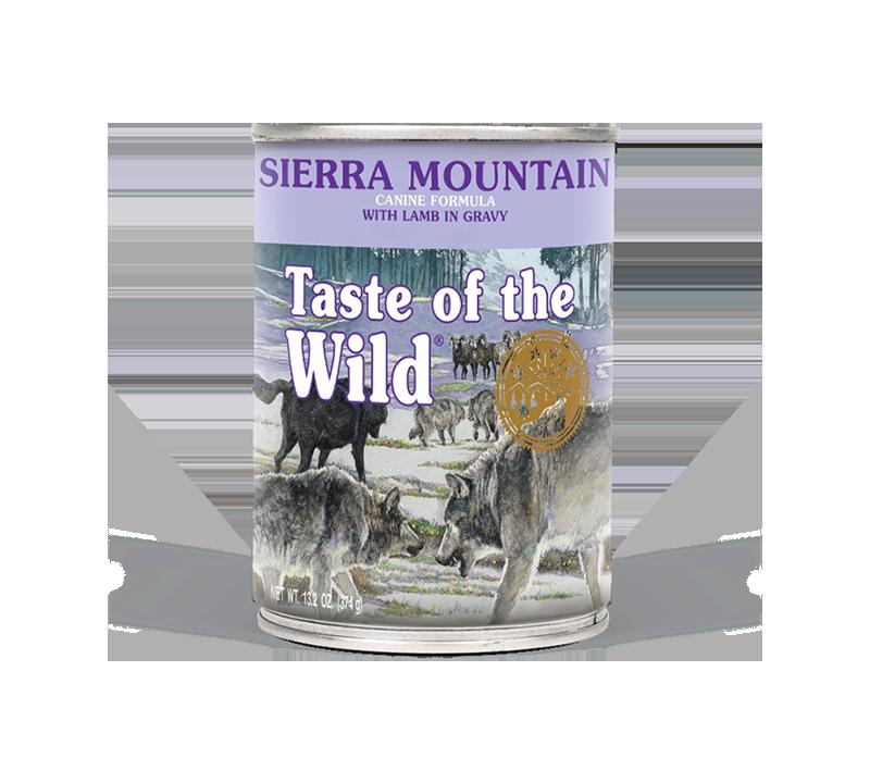 Taste of the Wild Sierra Mountain Canine Formula - Wet