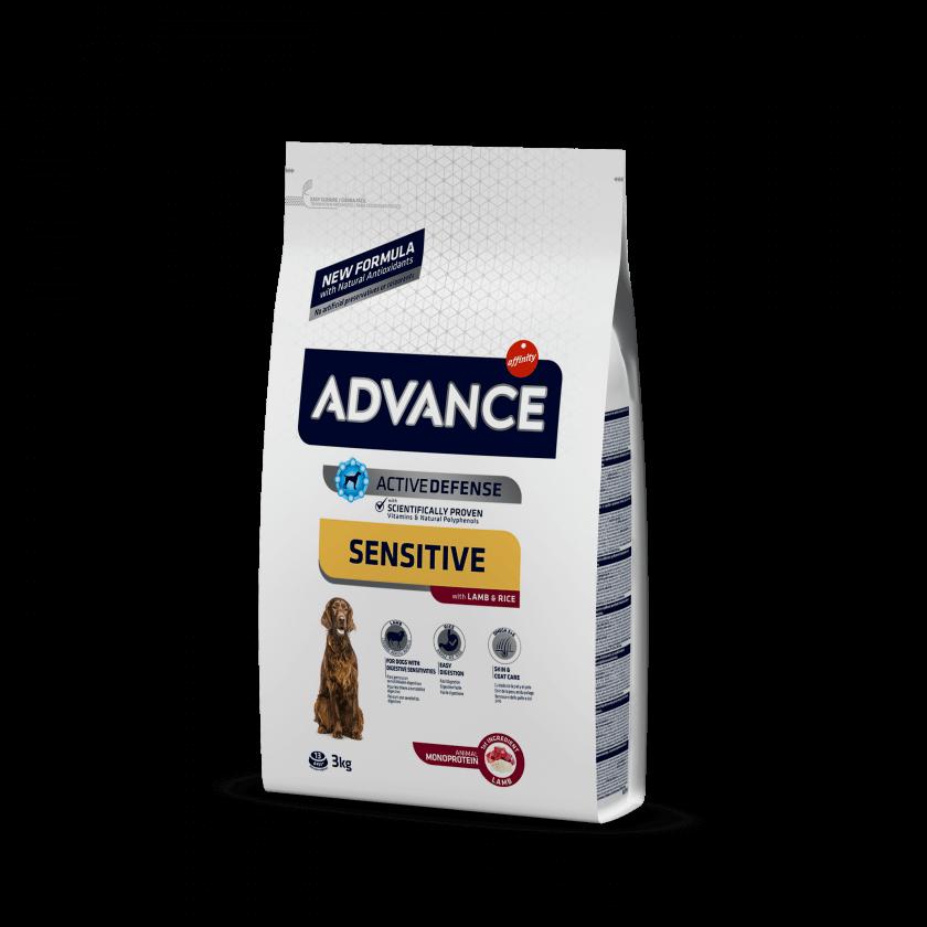 Advance Medium-Maxi Sensitive Cordeiro e Arroz