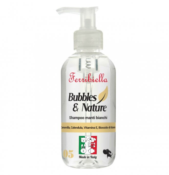 FERRIBIELLA Bubbles & Nature - Shampoo Pelos Brancos 250 ml