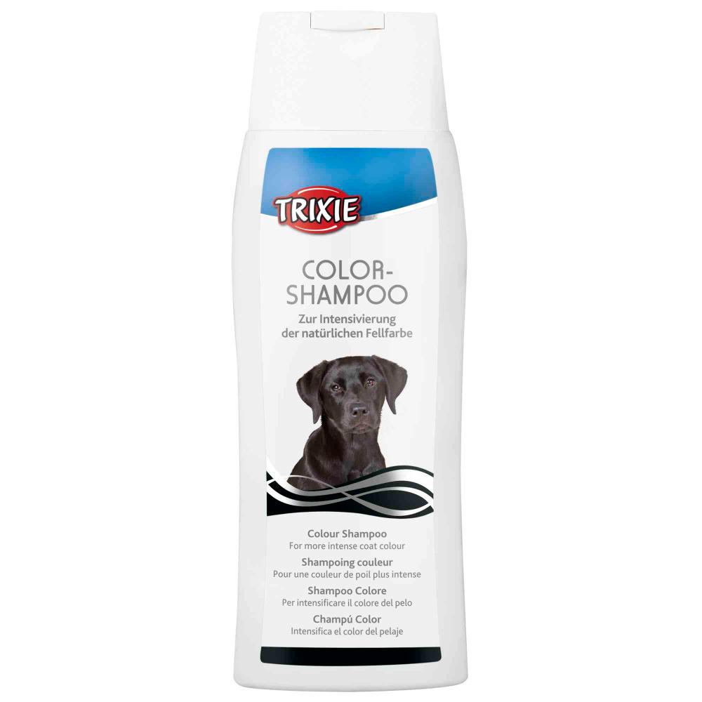 TRIXIE Shampoo para Cães de Pelo Negro
